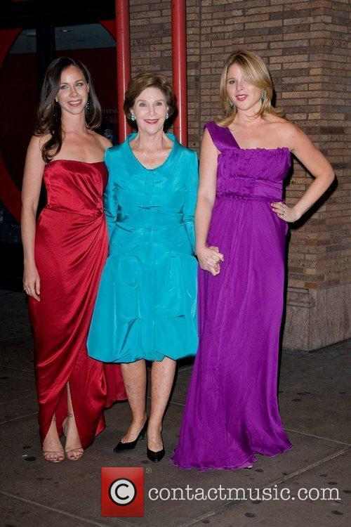 Laura Bush, Jenna Bush and Glamour Women Of The Year Awards 3