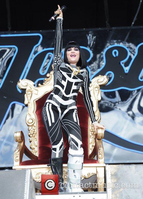 Jessie J  The 2011 Glastonbury Music Festival...