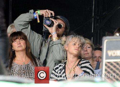 At The 2011 Glastonbury Music Festival held at...