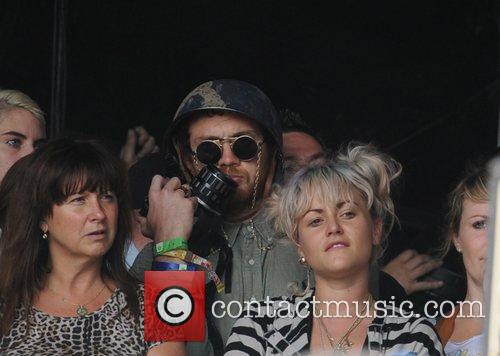 Jaime Winstone at The 2011 Glastonbury Music Festival...