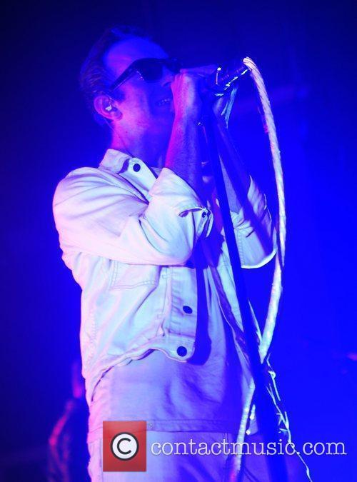 James Allan Glasvegas perform live at the HMV...