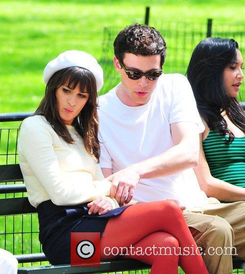 Lea Michele and Cory Monteith 8
