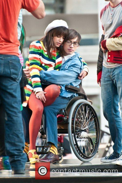 Lea Michele and Kevin McHale 2