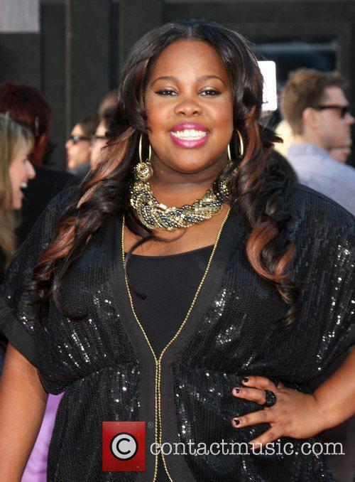 Amber Riley The world premiere of 'Glee: The...