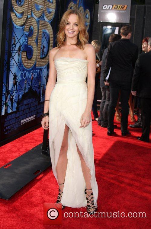 Jayma Mays  The world premiere of 'Glee:...