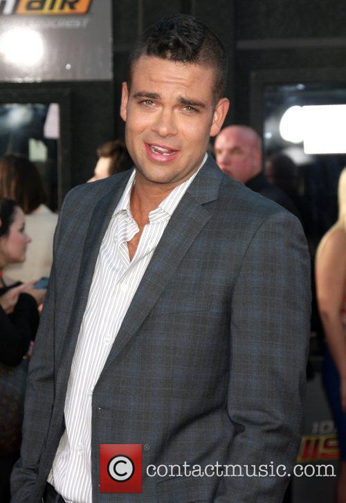 Mark Salling  The world premiere of 'Glee:...