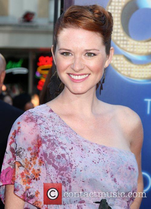 Sarah Drew The world premiere of 'Glee: The...