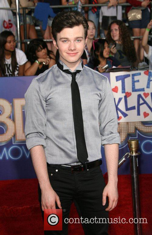 Chris Colfer The world premiere of 'Glee: The...