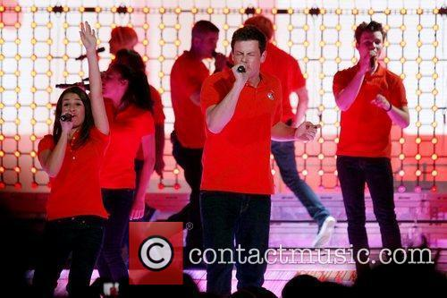 Perform on stage during 'Glee! Live In Concert'...