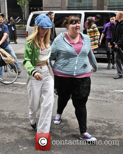 Heather Morris and Fink 4