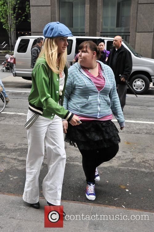 Heather Morris and Fink 1