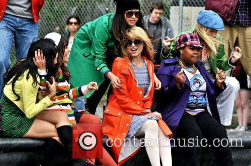 Naya Rivera, Amber Riley, Dianna Agron, Heather Morris and Lea Michele