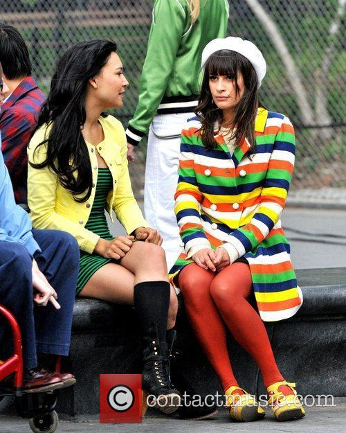 Naya Rivera and Lea Michele 7