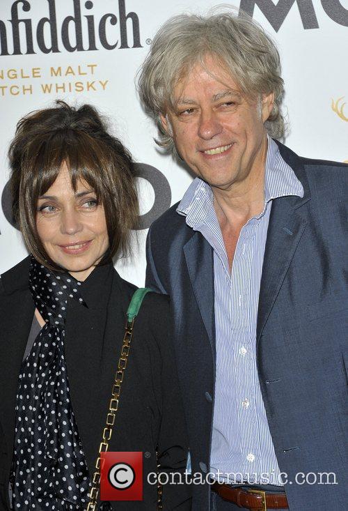 Jeanne Marine and Bob Geldof 1