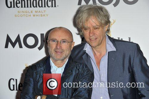 Phil Collins and Bob Geldof 3