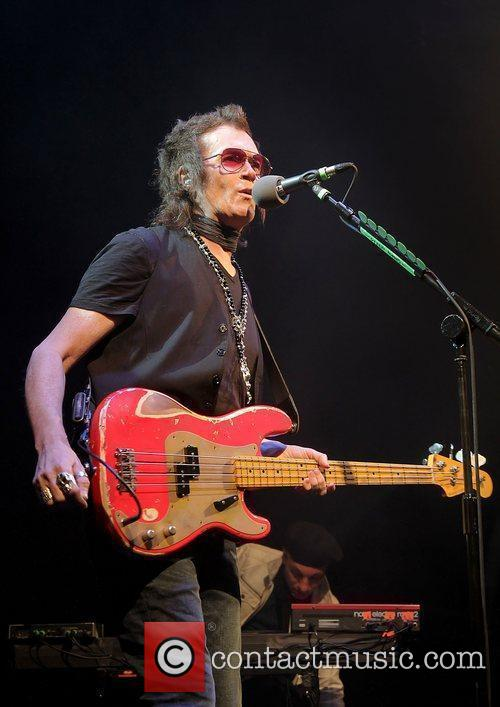 Former Deep Purple bass player Glenn Hughes, now...
