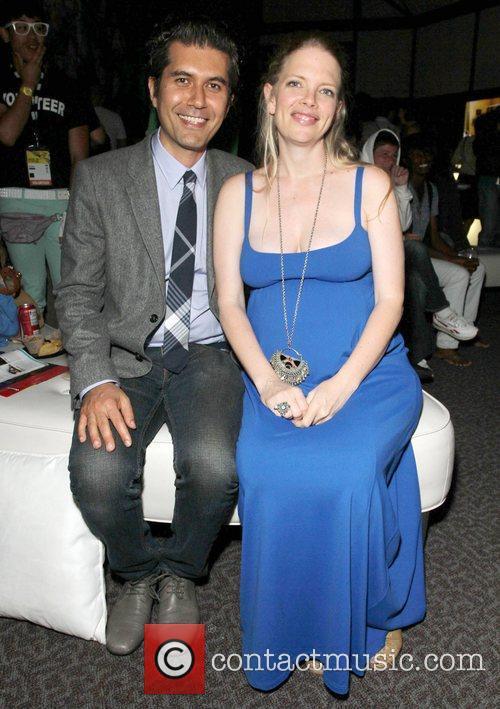 Reza Sixo Safai and wife Hollace Starr The...