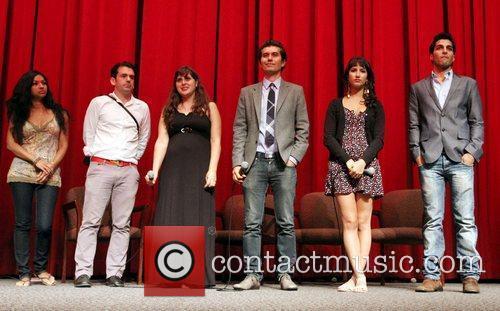 Gingger Shankar, director Maryam Keshavarz and Reza Sixo...