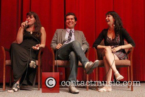 Director Maryam Keshavarz and Reza Sixo Safai, Nikohl...