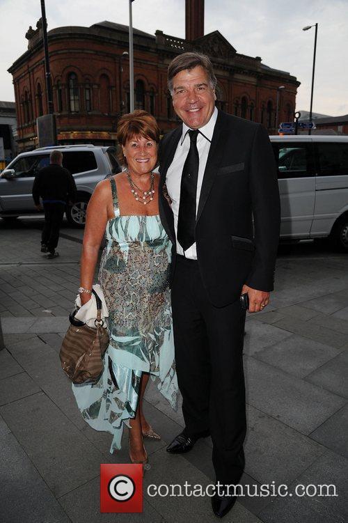 Sam Allardyce and wife Lynn  Breakthrough Breast...