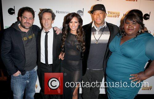 Brett Ratner, Brian Grazer, Gabourey Sidibe and Russell Simmons 2