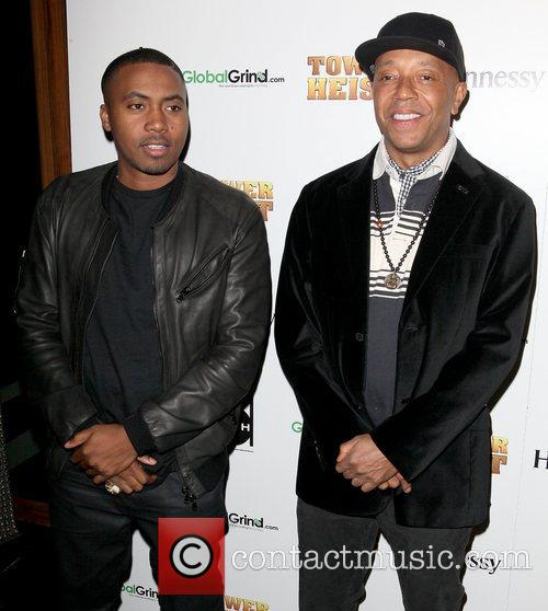 Nas and Russell Simmons 1