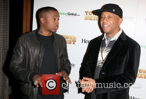 Nas and Russell Simmons 2