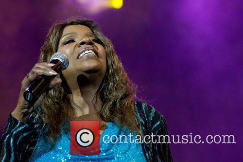 Gloria Gaynor performing live at Campo Pequeno in...