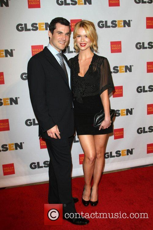Leah Renee and Guest 2011 GLSEN Respect Awards...