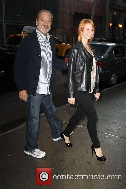 Kelsey Grammer and Kayte Grammer arriving at outside...