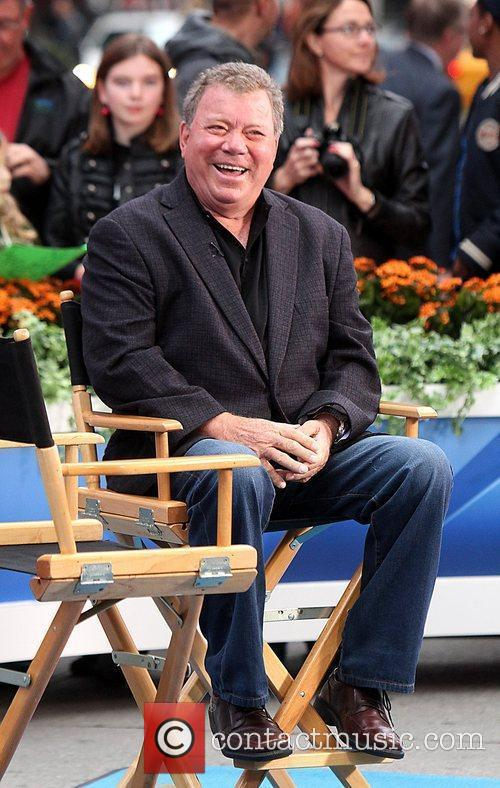 William Shatner at ABC studios for an appearance...