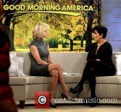 kris jenner, Lara Spencer, Good Morning America