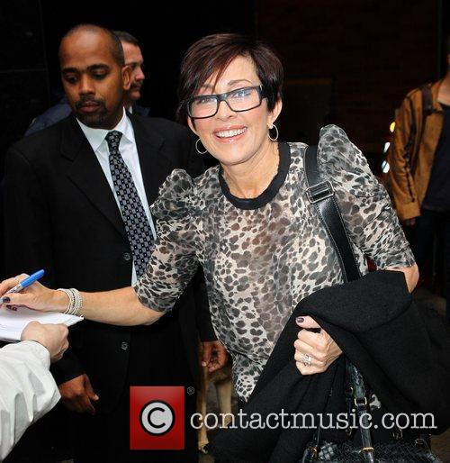 Patricia Heaton outside ABC studios to appear on...