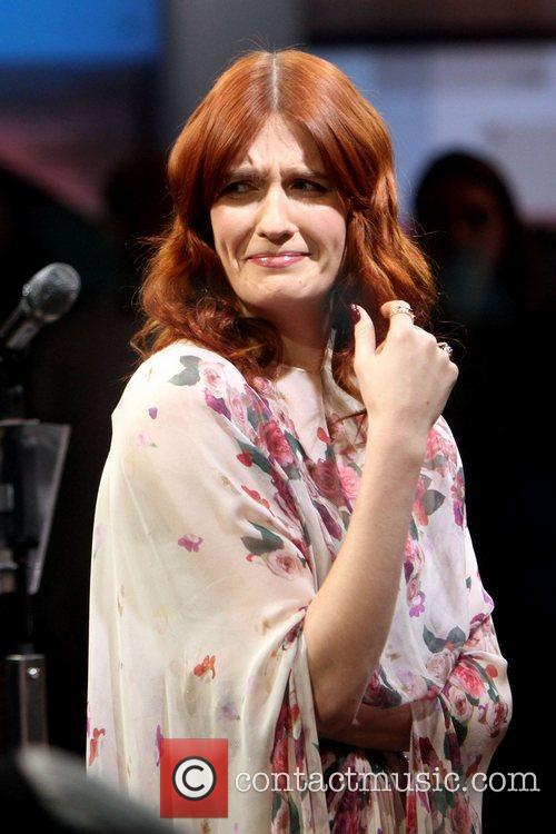 Florence Welch and Abc Studios 5