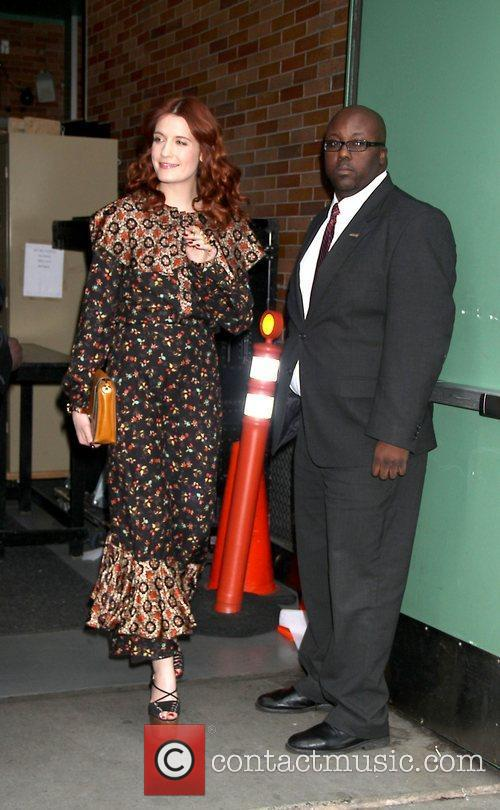 Florence Welch and Abc Studios 2