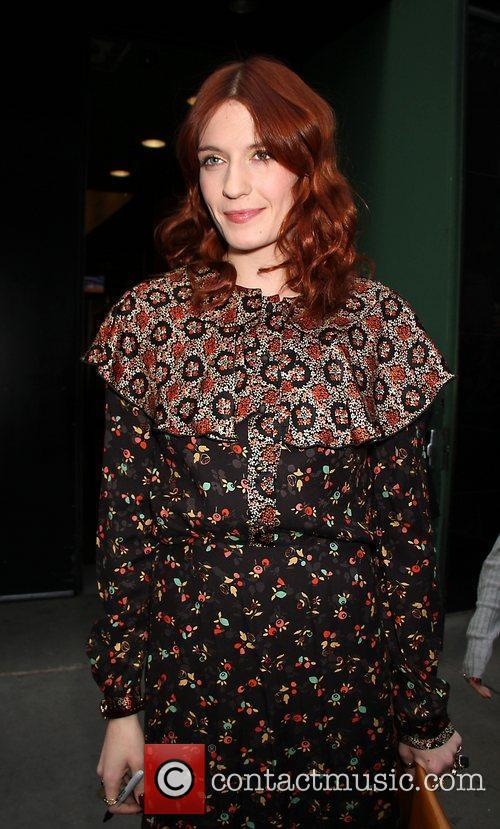 Florence Welch and Abc Studios 1