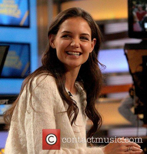 Katie Holmes Celebrities at ABC Studios for 'Good...