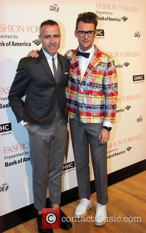 Thom Brown and Brad Goreski 3