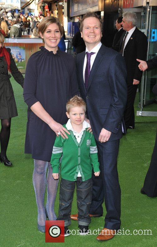 Guests Gnomeo And Juliet - UK film premiere...