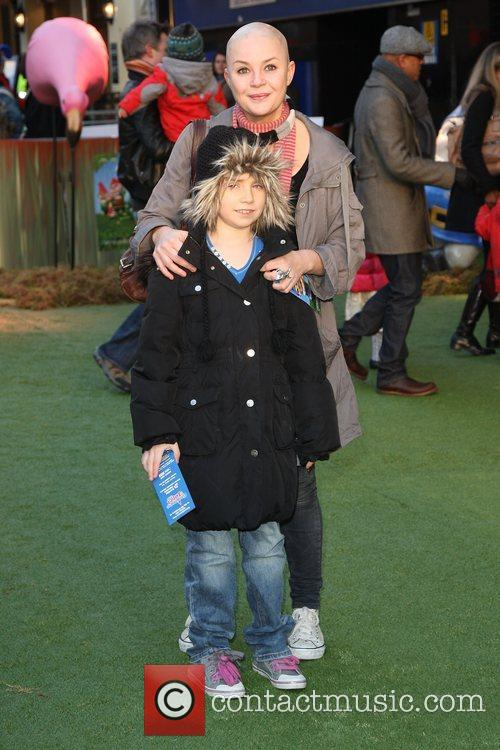 Gail Porter with her daughter Honey Gnomeo And...