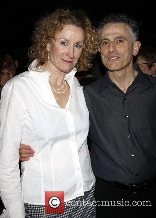 Lisa Banes and David Greenspan Opening night after...