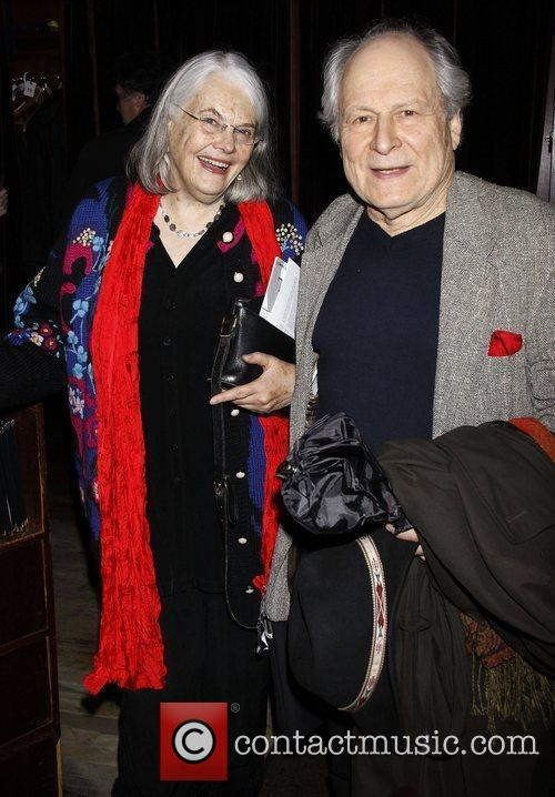Lois Smith and David Margulies Opening night after...