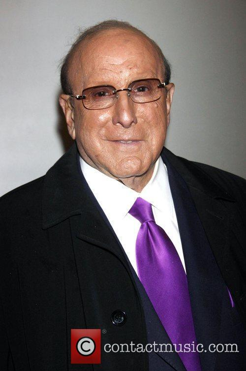 Clive Davis Opening night of the Off-Broadway production...