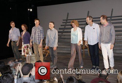 Opening night of the Off-Broadway production of 'Go...