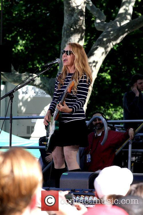 Charlotte Caffey ABC's 'Good Morning America' and Burger...