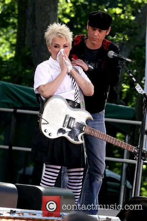 Jane Wiedlin ABC's 'Good Morning America' and Burger...