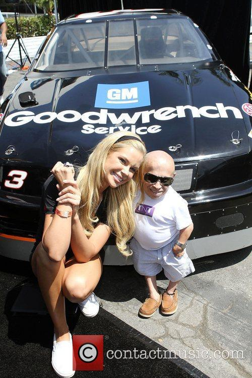 Playmate 2011 Jessa Hinton, Verne Troyer,  at...