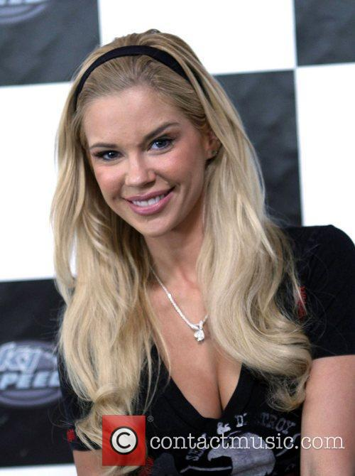 Jessa Hinton Playboy Playmate July 2011 attends the...