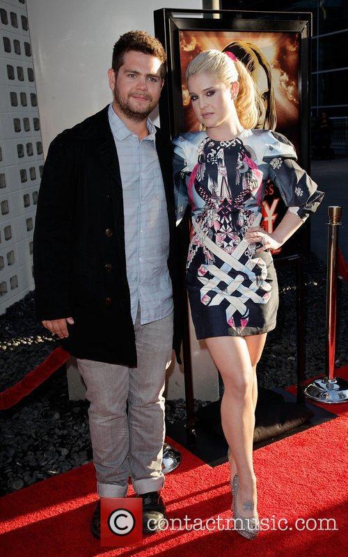 Jack Osbourne and Kelly Osbourne  Screening of...