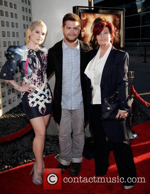 Kelly Osbourne, Jack Osbourne, and mother Sharon Osbourne...